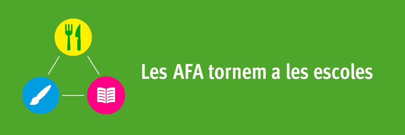 Bànner butlletí - Les AFA tornem a les escoles